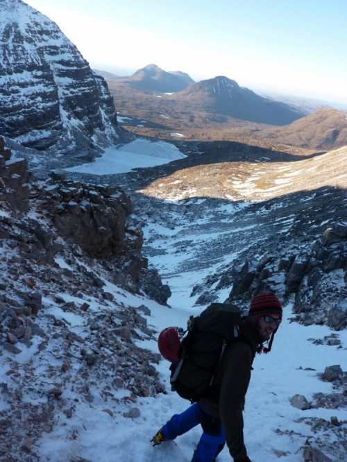 11 On the way down Beinn Eighe