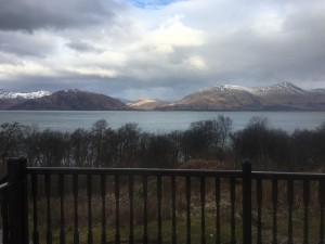 View from Birch Cottage, Ballachullish