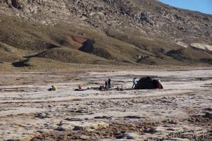 Camp on the Tarkeddit Plateau