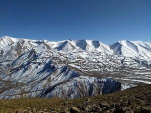 View of M'Goun Massif