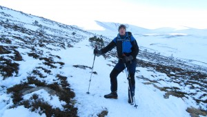 Steve M, Friday morning walk-in to Sneachda